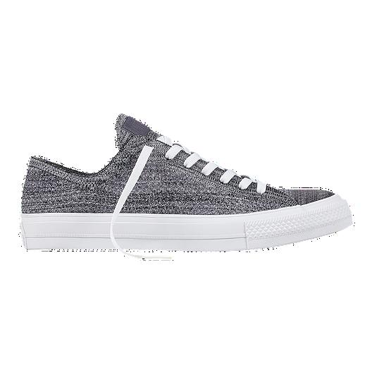 cb916393c5c61 Converse Men s Chuck Taylor All Star X Nike Flyknit Ox Shoes - Black ...