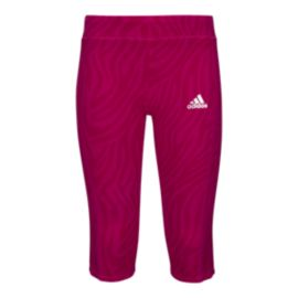 adidas Girls' 4-6X Animesh 3 Quarter Length Tights