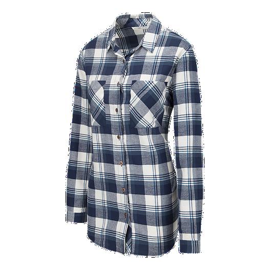 3d8c7016fe3 O Neill Women s Traveller Plaid Flannel Shirt