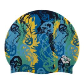 Arena Silicone Swim Cap - Underwater Royal