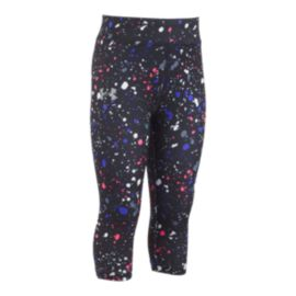 Under Armour Girls' 4-6X Splatter Print Capri Pants