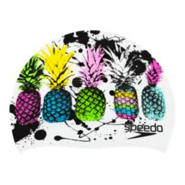 Speedo Tropical Holiday Swim Cap - Pineapple
