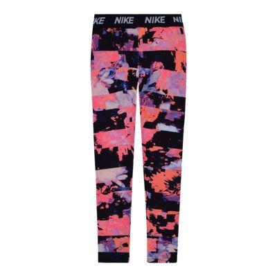 Nike Girls' 4-6X Sport Essentials Dri-Fit Floral Leggings