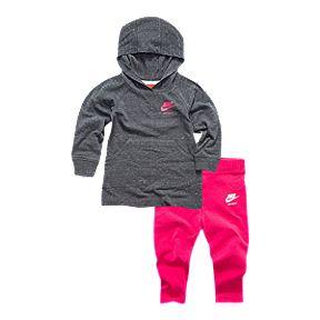 86c2a1aed817 Nike Baby Girls  Gym Vintage Dress   Leggings Set