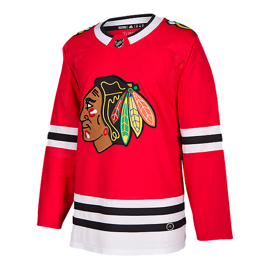 more photos 387cb 0b432 Chicago Blackhawks Authentic Home Hockey Jersey