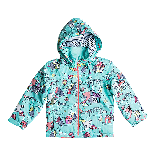 65fb3f189f0 Roxy Toddler Girls  Mini Jetty Little Miss Winter Jacket