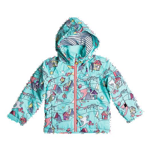 400c24a8f52f Roxy Toddler Girls  Mini Jetty Little Miss Winter Jacket