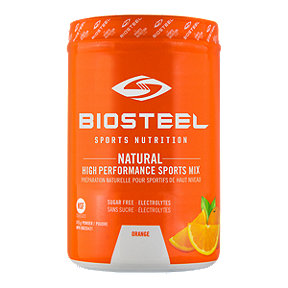BioSteel High Performance Sports Mix 315g Tub - Orange - 45 Servings Per Container