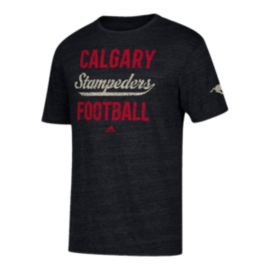 Calgary Stampeders Stenciled Sweep T Shirt