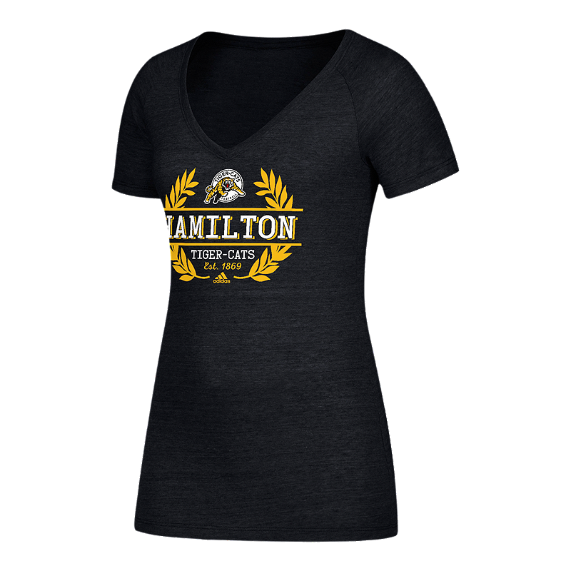 Hamilton Tiger Cats Women s Laurel Bar T Shirt  4166bd94b