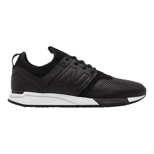 e5960af0d0dd3 New Balance Men's 247 Leather Shoes - Black | Sport Chek