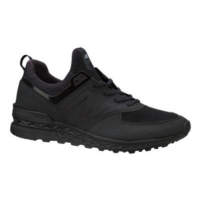 New Balance Men's 574 Sport Shoes - Black