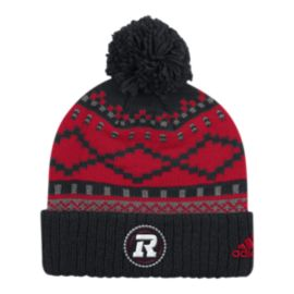 Ottawa Redblacks Cuffed Pom Knit