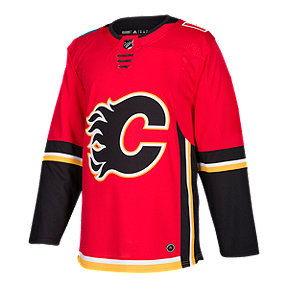 Calgary Flames Authentic Home Hockey Jersey