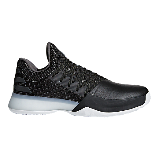 Adidas Men S Harden Vol 1 Basketball Shoes Black Grey Sport Chek