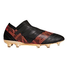 san francisco 35203 d3c2b adidas Men s Nemeziz 17+ 360 Agility FG Outdoor Soccer Cleats - Black