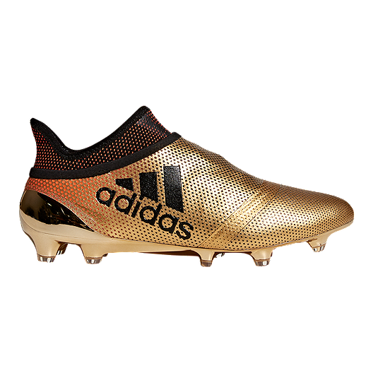 133dd8f13 adidas Men's X 17+ Purespeed FG Outdoor Soccer Cleats - Gold/Black | Sport  Chek