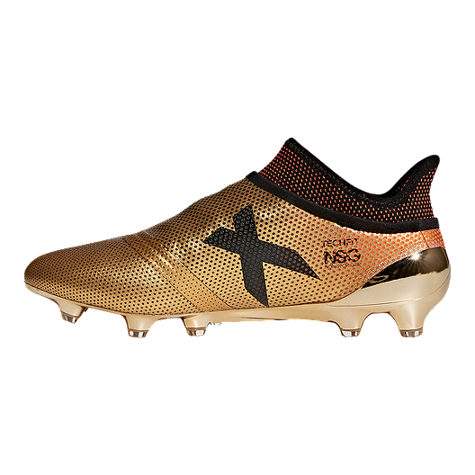 premium selection 09b2d eb5b3 adidas Men's X 17+ Purespeed FG Outdoor Soccer Cleats - Gold ...