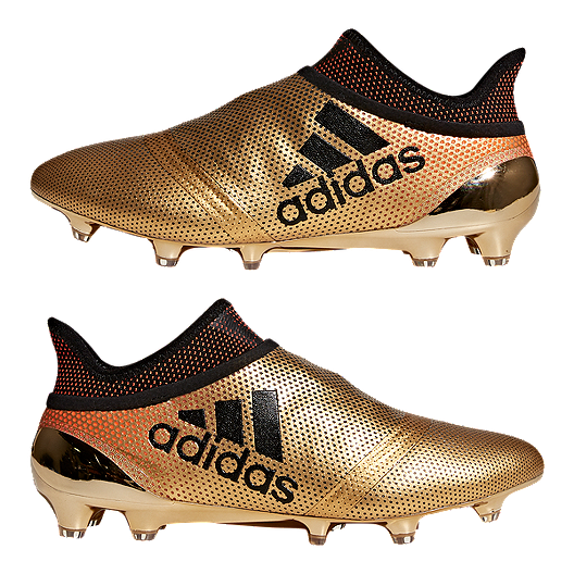 premium selection eab3a 99ad9 adidas Men's X 17+ Purespeed FG Outdoor Soccer Cleats - Gold ...