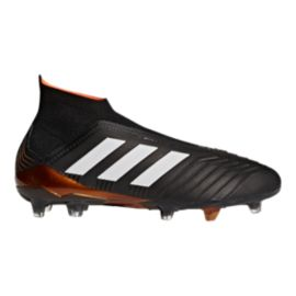 adidas Men's Predator 18+ FG Outdoor Soccer Cleats - Black/White