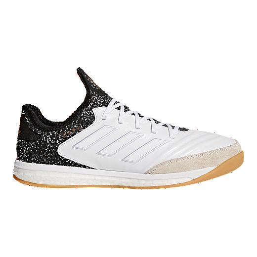 9dd6a9442 ... ireland adidas mens copa tango 18.1 tr indoor soccer shoes white black  gold 67fe9 c5b01