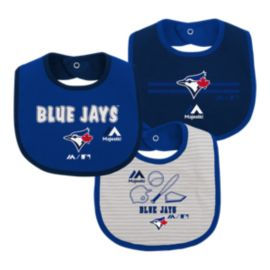 Toronto Blue Jays Infant Fair Catch Bib Set - 3-Piece