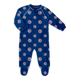 Toronto Blue Jays Infant Raglan Zip Up Coverall