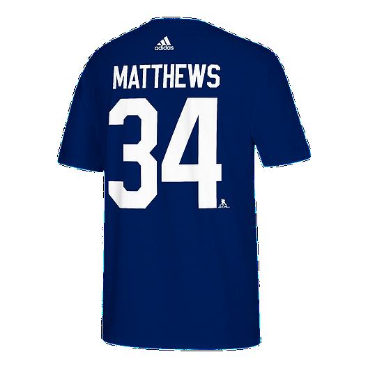 Youth Toronto Maple Leafs Austin Matthews Player Name /& Number Tee