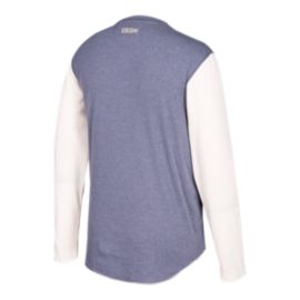 Toronto Maple Leafs CCM Long Sleeve Henley Shirt