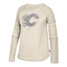 Calgary Flames Women's Long Sleeve Raglan Shirt