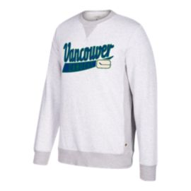 Vancouver Canucks CCM Finished Fleece Sweater