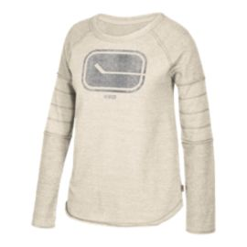 Vancouver Canucks Women's Long Sleeve Raglan Shirt