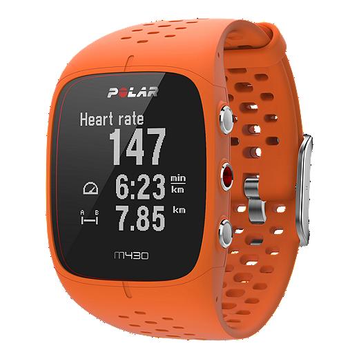 Polar M430 Gps Running Watch Orange Sport Chek