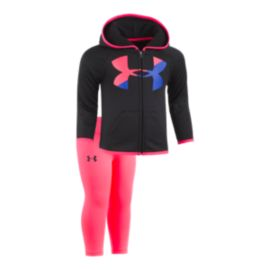 Under Armour Baby Girls' Big Logo Hoodie Set