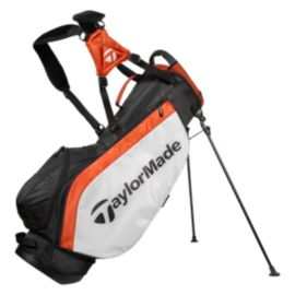 Taylormade Ascend Stand Bag - Black/White/Orange