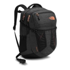 The North Face Women's Recon 31L Day Pack - Black/Burnt Coral Metallic