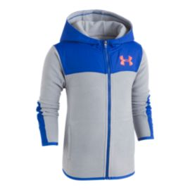 Under Armour Toddler Boys' Cozy Hundo Full Zip Fleece Top