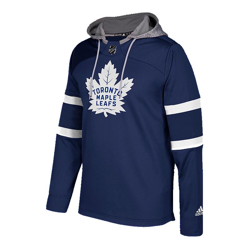 Toronto Maple Leafs Platinum Jersey Hoodie  f497c9bae