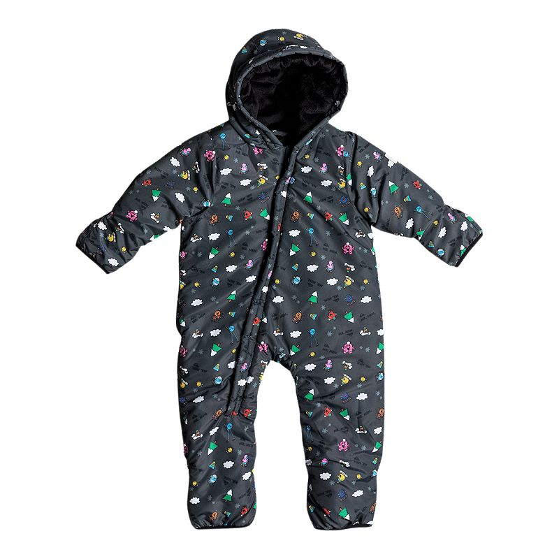 Quiksilver Infant Mr. Men Insulated Baby Snowsuit (889351859105) photo
