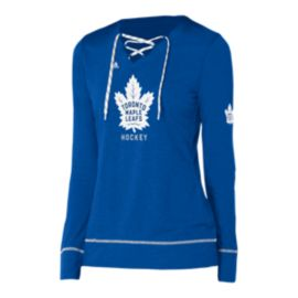 Toronto Maple Leafs Women's Wordmark Hockey Long Sleeve Stitch Shirt