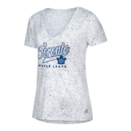 Toronto Maple Leafs Women's Open Script Tail T Shirt