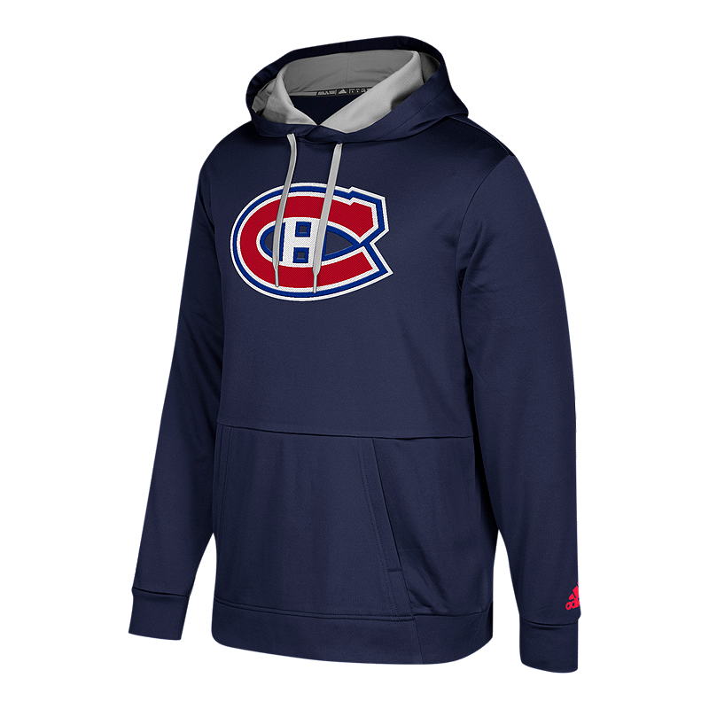 Montreal Canadiens Authentic Pullover Hoodie  3281ccd035c