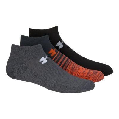 Under Armour Men's Athletic No Show Socks 3 - Pack