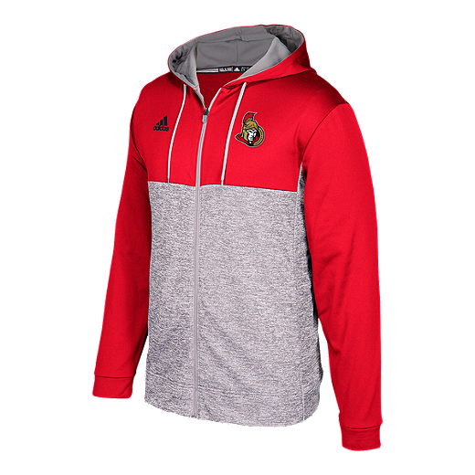 buy popular d35e4 388eb Ottawa Senators Authentic Full Zip Hoodie