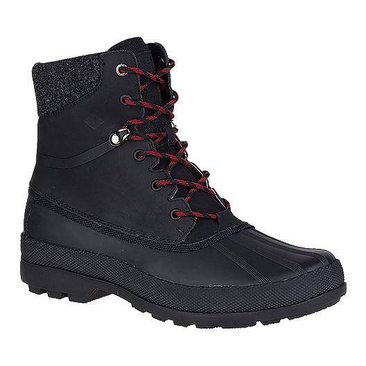 938aaa2099e8d Sperry Men s Cold Bay Waterproof Ice+ Winter Boots - Black