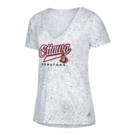 Ottawa Senators Women's Open Script Tail Short Sleeve T Shirt
