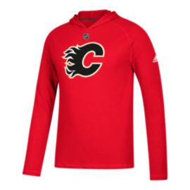 Calgary Flames Logo Premier Ultimate Long Sleeve Hoodie