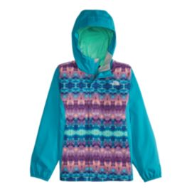 The North Face Girls' Resolve Print Insulated Rain Jacket