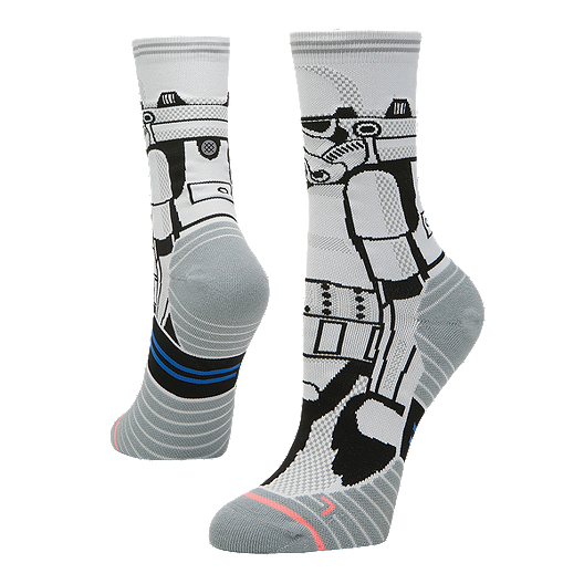 cb6cf586762 Stance Women s Star Wars Stormtrooper Run Crew Socks - White