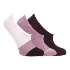 Converse Women's Lurex Colour Block Ultra Low Socks 3 - Pack